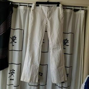 GAP Hip slung fit linen pants size 2